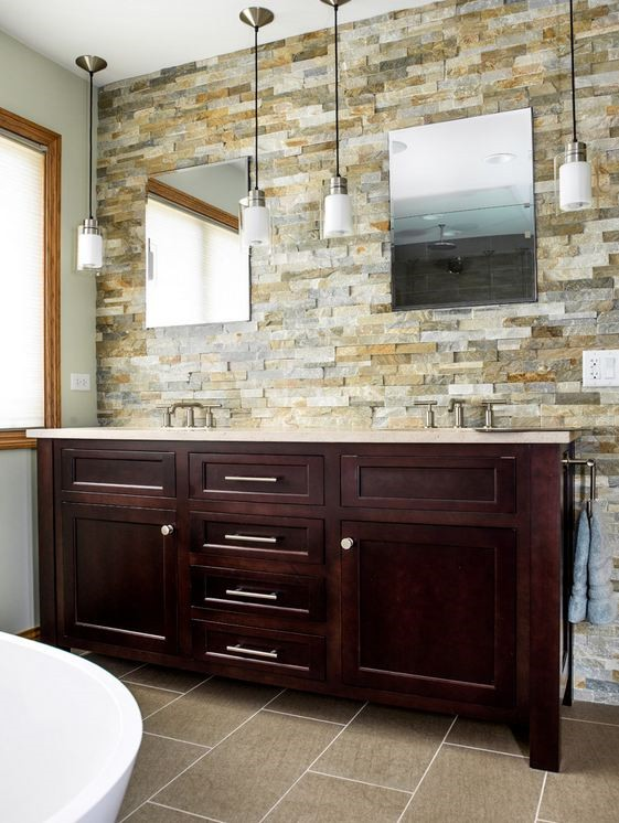 Bathroom Backsplash Anatolia Beachwalk Ledgestone