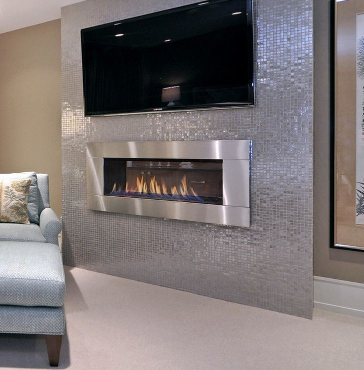 FIREPLACE - TREND OR 1X1 STAINLESS STEEL