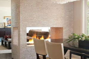 FIREPLACE - ANATOLIA LEDGESTONE IVORY SPLIT FACE