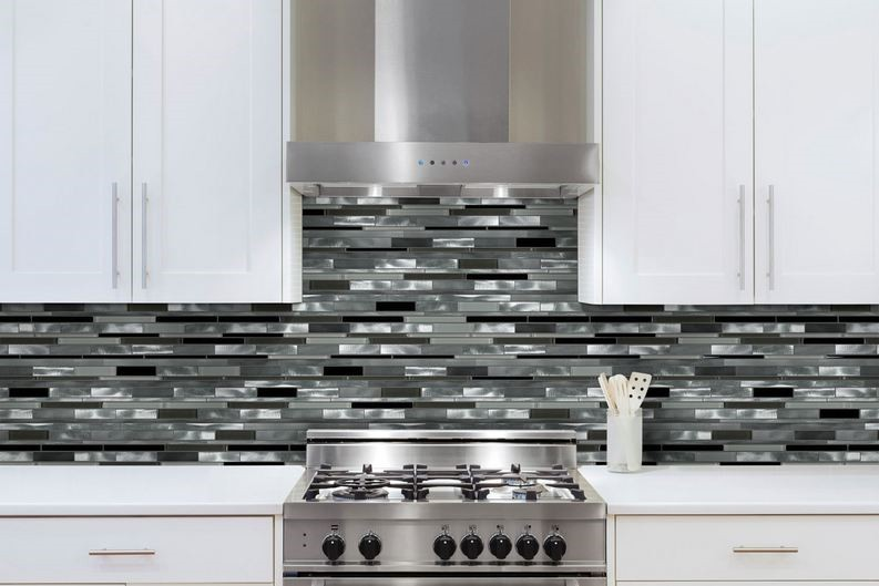 Kitchen Backsplash Glazzio Orbit Series