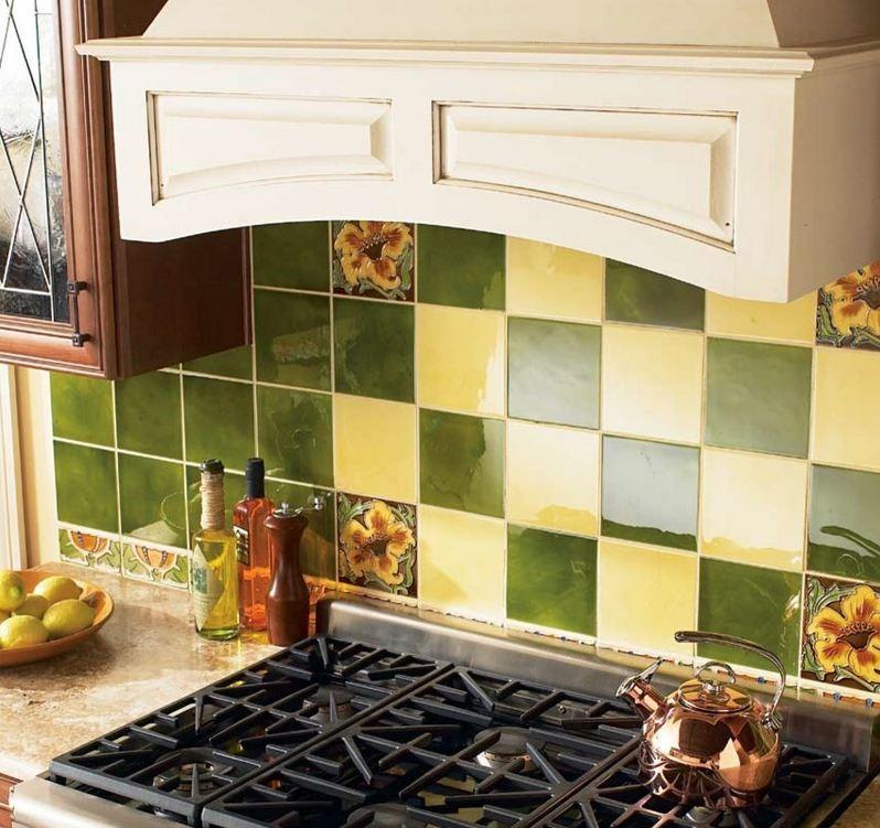 Kitchen Backsplash Glass Tile Gallery: SOLISTONE HAND PAINTED CERAMIC DECO