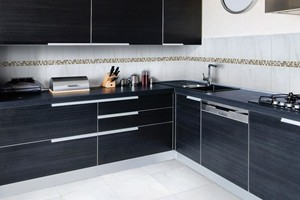 KITCHEN - ANATOLIA BELLINA GREY WALL AND FLOOR