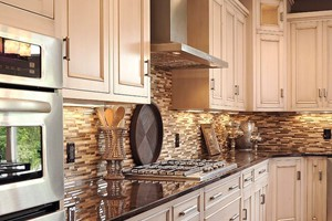 KITCHEN BACKSPLASH - ANATOLIA BLISS CAPPUCCINO LINEAR