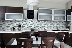 KITCHEN BACKSPLASH - ANATOLIA BLISS ICELAND LINEAR