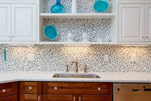 KITCHEN BACKSPLASH - ANATOLIA BLISS ICELAND SQUARES
