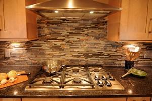Kitchen Backsplash Anatolia Bliss Smoky Mica Linear