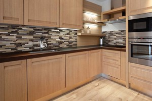 KITCHEN BACKSPLASH - ANATOLIA BLISS STAINLESS WOODLAND PARK
