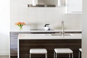 Kitchen Backsplash Anatolia Element Mist 3x12
