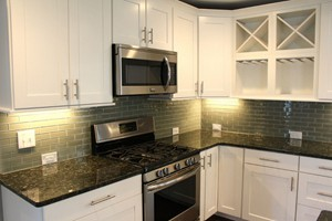 KITCHEN BACKSPLASH - ANATOLIA ELEMENT SMOKE 2X6