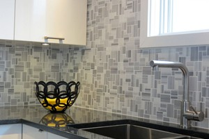 KITCHEN BACKSPLASH - ANATOLIA FLUID MARBLE MINI VERSAILLE