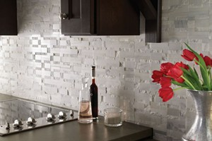 KITCHEN BACKSPLASH - DIAMOND TECH CONTUORS DORIC