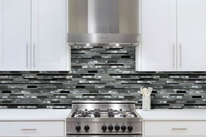 KITCHEN BACKSPLASH - GLAZZIO ORBIT SERIES