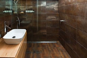 SHOWER - ELEGANZA METALLICA BROWN