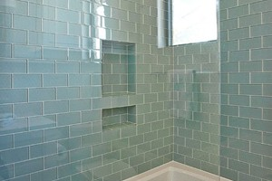 SHOWER - GLAZZIO CRYSTILE SERIES 3X6 GRAY SKY