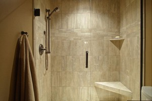 SHOWER - RAGNO ARTE BIANCO 3X6 AND 13X13